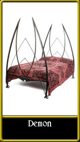 Beds Spw Ironworks Gothic Amp Medieval Furniture Beds X